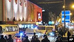 莫斯科市中心的警察