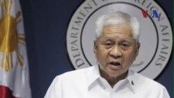 Philippines đề nghị ngừng hành động đơn phương ở Biển Đông