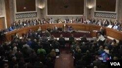 美國參議院撥款委員會就伊波拉問題舉行聽證會