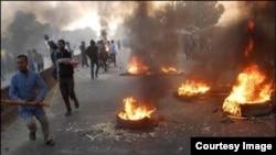تظاهرات خشونب بار در بنگلادش