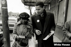 Obama as a community organizer in Chicago