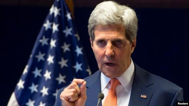 FILE - U.S. Secretary of State John Kerry