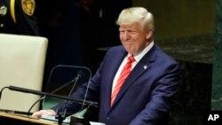 این سومین سخنرانی پرزیدنت ترامپ در این مقام در سازمان ملل متحد است.