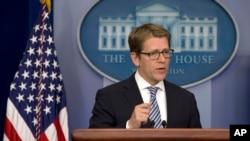 Phát ngôn viên Tòa Bạch Ốc Jay Carney nói rằng Hoa Kỳ muốn có giải pháp ngoại giao nhưng Iran phải hiểu rằng thời gian không phải là vô giới hạn