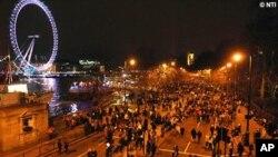 نیا سال: لندن میں خوش آمدید کی تیاریاں زوروں پر