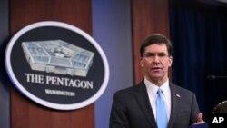 Las amenazas de Trump fueron condenadas al exterior del Pentágono.
