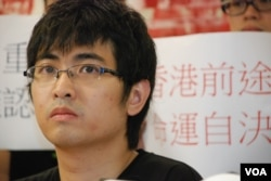 香港學聯秘書長周永康表示,民間公投之後必須有升級行動才可逼使北京正視香港的管治危機