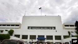 پاکستانی پارلیمان کا ایک منظر (فائل فوٹو)