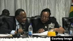 Former South African President Kgalema Motlanthe Commission