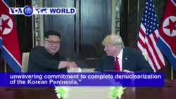VOA60 World PM - Trump-Kim Summit Produces High Hopes, Few Details