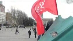 Donetsk sakinləri Rusiya ilə birləşmək fikrinə birmənalı yanaşmır