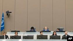 Suasana sidang Mahkamah Internasional di Den Haag. (Foto: Dok)