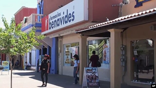 In Nogales, Mexico, the economy has taken a beating, partly due to declining tourism