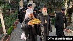 რუსეთის ეკლესიის გავლენიანი მიტროპოლიტი ილარიონ ალფეევი თბილისში