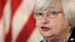 Chủ tịch Quỹ dự trữ liên bang, bà Janet Yellen.