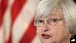 La présidente de la Fed, Janet Yellen, pourrait annoncer cette année le relèvement des taux directeurs de la Réserve fédérale
