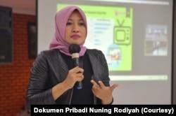 Komisioner Komisi Penyiaran Indonesia (KPI) Nuning Rodiyah. (Foto: Dok Pribadi)