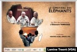 Affiche du film diffusé au Fespaco 2019, au Burkina Faso, le 26 février 2019. (VOA/Lamine Traoré)