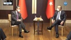 Çavuşoğlu Çin Dışişleri Bakanıyla Görüştü