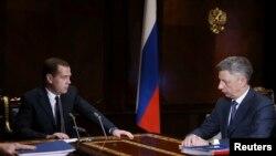 Дмитрий Медведев и Юрий Бойко