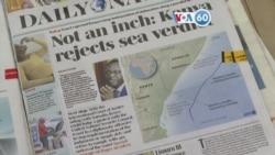 Manchetes africanas 13 de Outubro: Presidente Uhuru Kenyatta rejeitou decisão de tribunal da ONU sobre fronteira marítima com a Somália