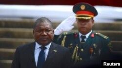 Prezida wa Mozambique Filipe Nyusi