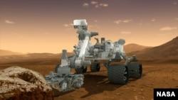 Xe thám hiểm Hỏa tinh Curiosity