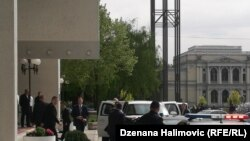 Bosnia-Herzegovina - Deputy Director of the US Intelligence Agency CIA Vaughn Bishop arrived in an official visit to Sarajevo, 26Apr2019