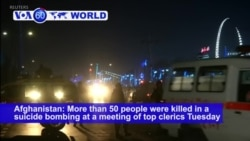 VOA60 World PM - 50 Killed in Kabul Suicide Blast