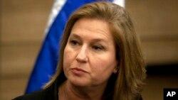 زیپی لیونی، وزیر امورخارجه پیشین و عضو کنونی پارلمان اسرائیل