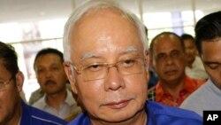 马来西亚前总理纳吉布星期三败选星期六被禁止出境