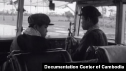 Khmer Rouge young train drivers, most of whom were teenagers, took hundreds of thousands of Cambodian people from other parts of the country to the Northwest zone of Pursat and Battambang during the Khmer Rouge regime. (Courtesy of Documentation Center of Cambodia)