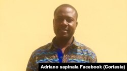Adriano Sapinala, deputado da Unita, Angola