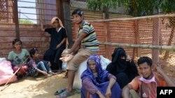 ملګري ملتونه وايي شاوخوا ۱۵۰زره روهنګیايي مسلمانان له میانمار څخه تښتېدلي