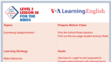 Let's Learn English - Level 2 - Lesson 28
