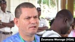 Xavier Crespin, le directeur général de l'OOAS, à Ouagadougou, au Burkina, le 22 juillet 2017. (VOA/Zoumana Wonogo)