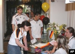 Boston's Goethe Institute offers German language courses, book discussions... and showings of every one of Germany's World Cup games