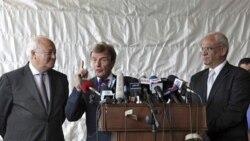 برنارد کوشنر با مقامات اسراييلی و فلسطينی ديدار کرد