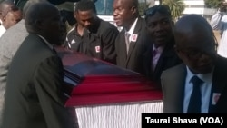The late Willard Mashinkila Khumalo was laid to rest at Lady Stanley Cemetery in Bulawayo.