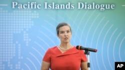 美国国务院主管澳大利亚、新西兰和太平洋岛国事务的副助理国务卿孙晓雅(Sandra Oudkirk)(美联社资料照)