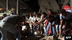 Війська НАТО бомбардували спальний район Тріполі