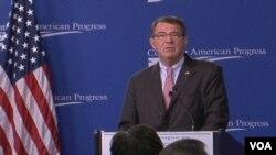 美国新任国防部长卡特(視頻截圖)