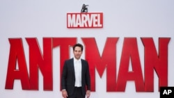 Paul Rudd di acara pemutaran perdana film 'Ant-Man' di London