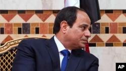 Le président égyptien Abdel-Fattah el-Sissi, 1er mars 2015.