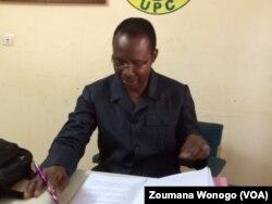 Natanêl Ouédraogo, membre de l'UPC. (VOA/Zoumana Wonogo)