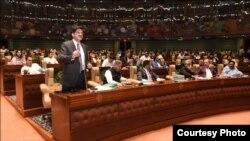 سندھ اسمبلی کے اجلاس کا ایک منظر، فائل فوٹو