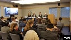 ဝါရွင္တန္္ အေျခစိုက္ အေမရိကန္ ၿငိမ္းခ်မ္းေရးအင္စတီက်ဳ႔ (USIP) မွာ က်င္းပတဲ့ China's Role in Myanmar's Internal Conflicts