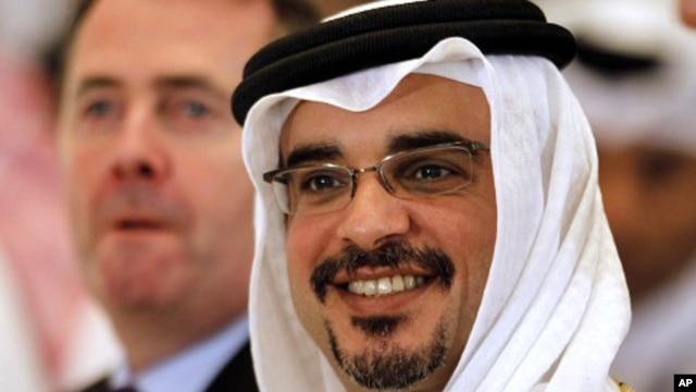 Bahrain's Crown Prince Salman bin Hamad bin al-Khalifa (file photo)