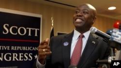 Anggota Kongres Tim Scott menjadi senator keturunan Afrika pertama yang berasal dari daerah selatan selama 130 tahun terakhir. (Foto: Dok)