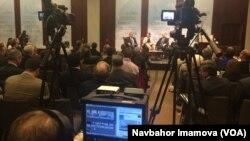 Vashingtonda Strategik va xalqaro tadqiqotlar markazida kechgan tadbirdan, 17-noyabr, 2014